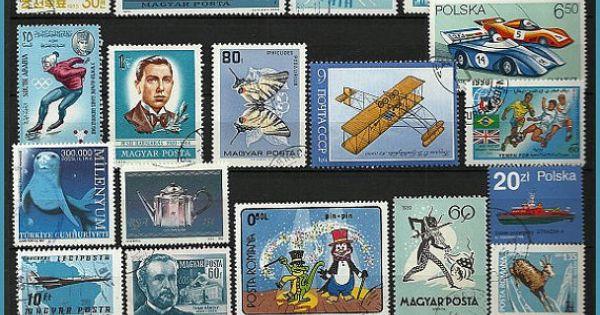 Vintage Blue Stamps