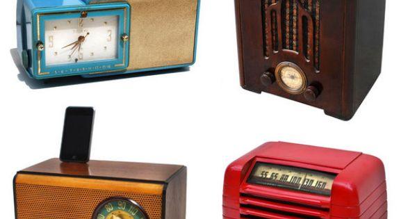 antique tube radio ipod docks ipod dock ipod and radios. Black Bedroom Furniture Sets. Home Design Ideas