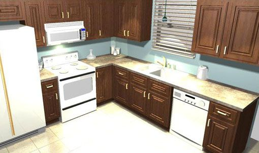 10x10 Kitchen Remodel Ideas Home Design And Decor Reviews Kitchen Layout 10x10 Kitchen Best Kitchen Layout