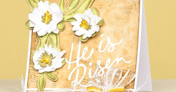 He Is Risen card for Easter.