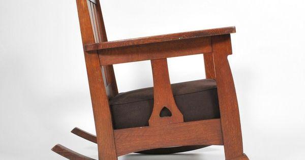 Charles Limbert Chair & Rocker  Antiques, Modern and Modern armchair