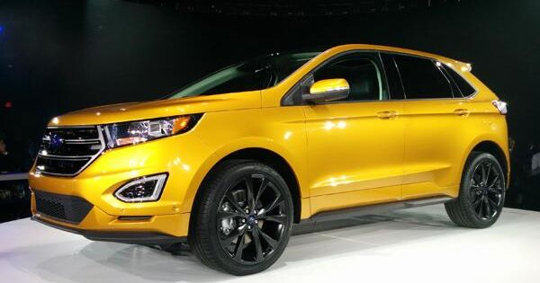 gold colour 2015 ford edge crossover suv 2015 ford edge photos pinterest ford edge. Black Bedroom Furniture Sets. Home Design Ideas