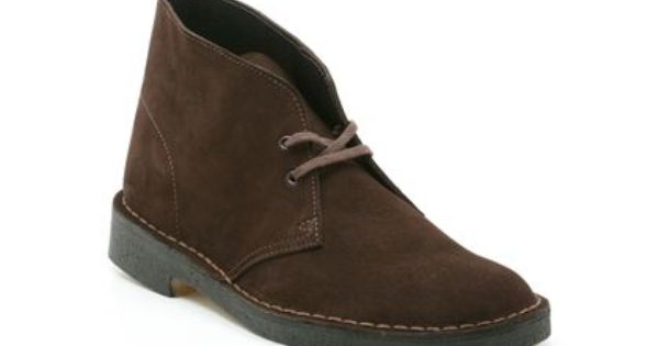 Mens Originals Boots In Brown Suede Desert Boot From Clarks Shoes