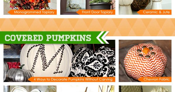 35+ crazy cool pumpkin ideas to try this fall. Wedding decor ideas!