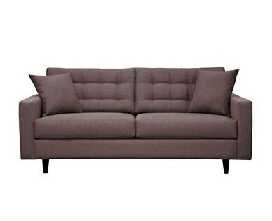 Sofa With Tufted Back Track Arms