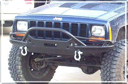 Ajs Offroad Prerok Winch Bumper Jeep Xj Cherokee Camioneta
