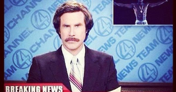 Breaking News. lol Anchor Man 2