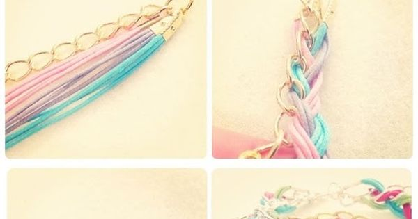 DIY Plaited Bracelet diy crafts easy crafts crafty easy diy diy jewelry