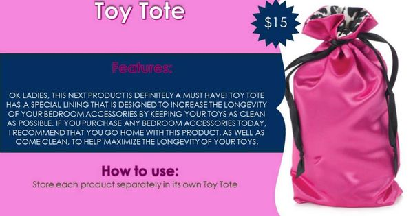 Pure Romance Toys : Toy tote info pure romance online