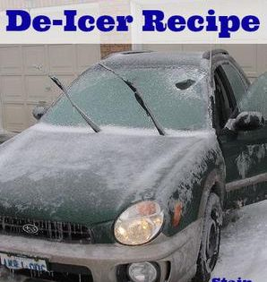 Homemade Deicer How To Make Deicer Homemade Deicer Diy Cleaning Products Cleaning Hacks