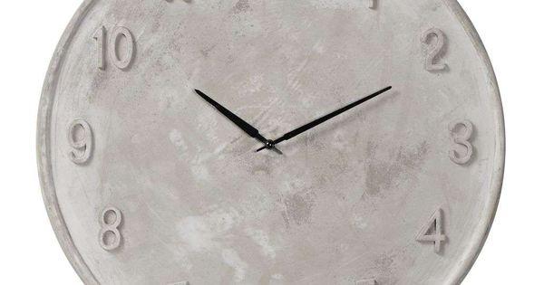 Woonexpressnl 6695 Klok BETON Woonkamer Pinterest Concrete And Clocks