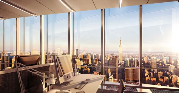 The Hudson Yards office towers will be distinguished by their ...
