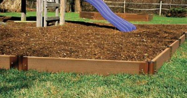 Frame 16 Garden Border Edging Kit Outdoor Fence Set Wood Fabric Wall Safe New On Ebay Inexpensive Landscaping Playset Landscaping Landscape Edging