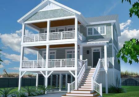 plan 15072nc casual beach house plan cas house plans and