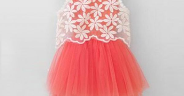 Stylish 1st Birthday Dresses for Kids - Cute Pink Flower Girl ...