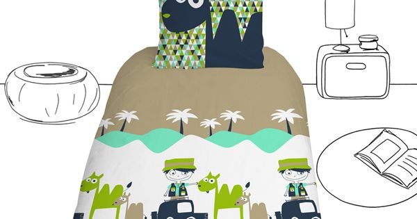 housse de couette jeep pour petits gar ons jeep bed cover for little boys linge de lit. Black Bedroom Furniture Sets. Home Design Ideas