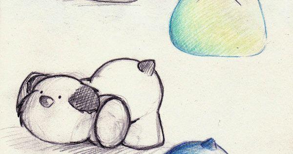 drawings of cute animals | Cute Stuffed Animal Design . by ~Yusura