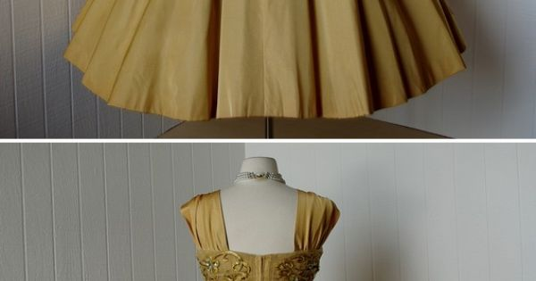 Love this vintage dress! traven7 vintage: 1950s dress with bolero