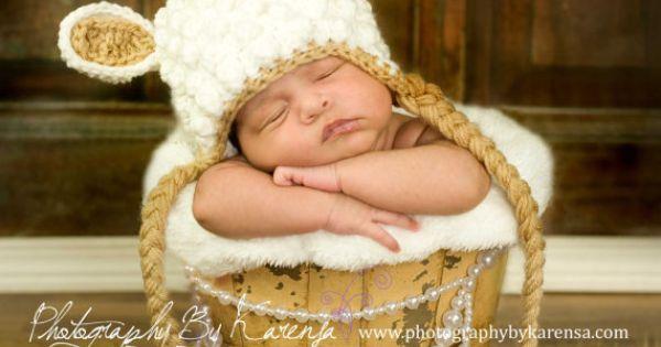 Lamb, Hats and Crochet on Pinterest