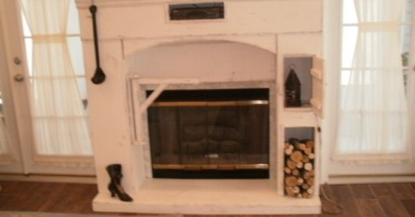 Custom Made Fireplace Surround For Gas Fireplaces Primitive Passions Furniture Primitive