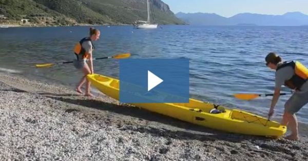 No Need For A Trailer Or Roof Rack Sections Snap Together Apart So You Can Make It A Solo Tandem Triple Seat Kayak Tandem Kayaking Kayaking Kayak Camping