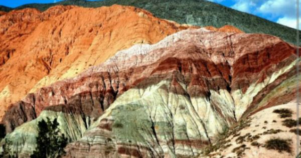 The Hill of Seven Colors in Argentina | JaW DroPPeRz | Pinterest