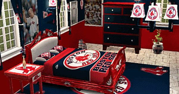Now That's A Red Sox Themed Room