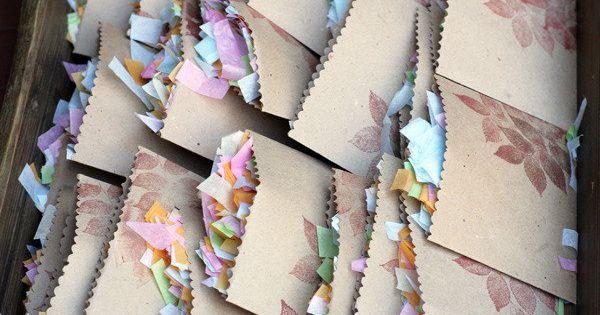 Confetti Party Bags.