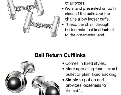 A Man's Guide to Cufflinks