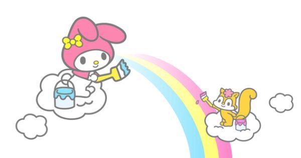 mikura chan picked magic of rainbow from mariland twitter on 13 08 2012 ハローキティの壁紙 マイメロディ クロミ