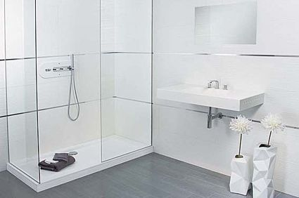 White Tiled Bathrooms white tiled bathrooms images - google search | gerri's bath
