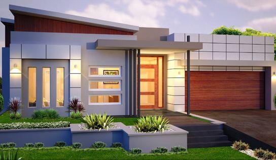Modern Single Storey House Designs 2014 2015 Fashion Trends 2014 2015 Facade House House Designs Exterior Modern House Exterior