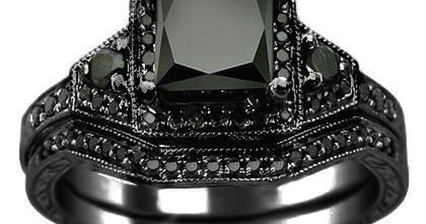 Black Diamond Ring I don t wear much jewelry but I want this I ll ma