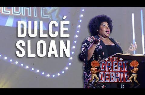 Dulce Sloan Negative 2nd Speaker The 29th Annual Great Debate 2018 Youtube Comedy Festival Edinburgh Festival Edinburgh Fringe Festival