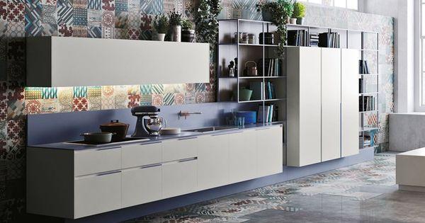 Cuisine lin aire orange evolution by snaidero design - Cuisine lineaire design ...