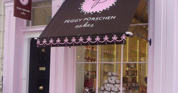 Violet's Valise store front muse ~ Peggy Porschen: Ebury Street London -