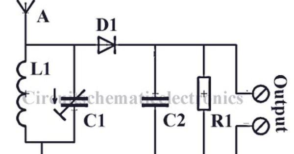 radio circuit without source voltage schematic diagram