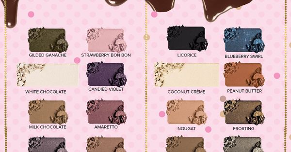 Indulge your beauty craving with Too Faced Chocolate Bar vs Semi Sweet