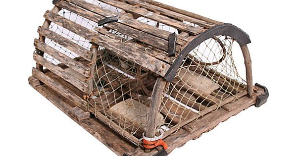 New england lobster trap on divine deco pinterest lobster trap - Deco trap ...