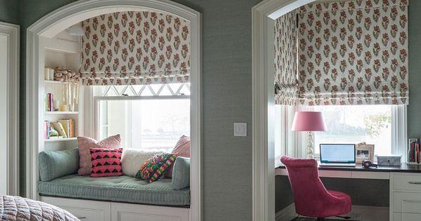 Zona de estudio y relax en dormitorio juvenil decoraci n for Decoracion hogar juvenil