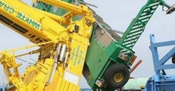 Overhead Crane Safety South Africa : Crane recovery scheduled safety training