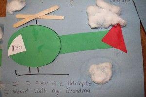 Preschool Transportation Crafts Air Transport Crafts For