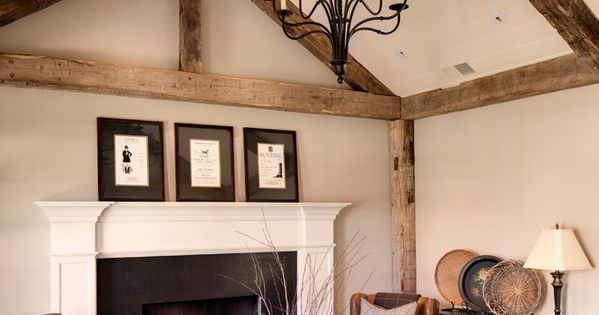 Exposed Ceiling Beams Living Room Ideas For Foxy Living