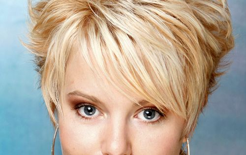 Short Layered Haircuts: Short Straight Alternative Hairstyle