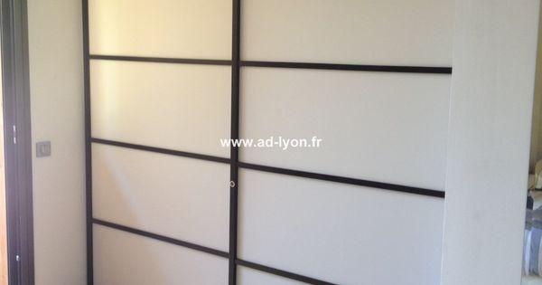 Une cloison japonaise à la place du mur rénovation Pinterest