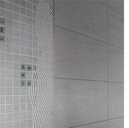 Home Dzine Cover Up An Existing Tiled Wall Or Backsplash Tile Over Tile Vinyl Wall Tiles Ceramic Tile Bathrooms