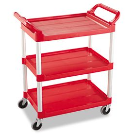 Rubbermaid Commercial Products 37 75 In Utility Cart Rcp342488red