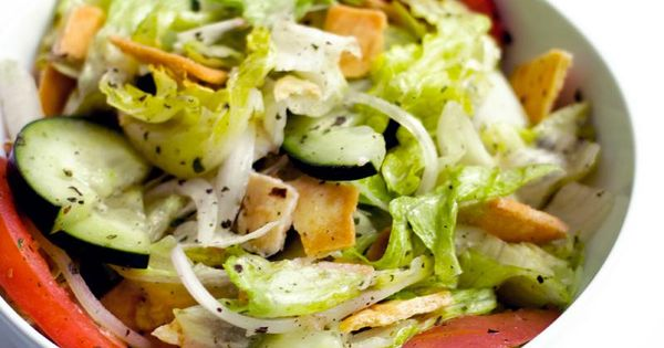 New Jersey Fattoush | New Jersey, Jersey and Articles