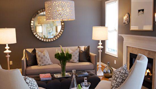 Espejos sala estar peque a decoraci n de salas de estar for Decoracion de espejos para sala