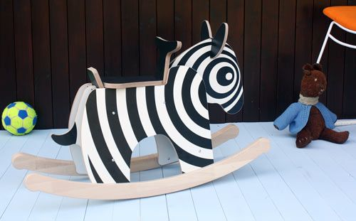 Zebra rocker by Newmakers